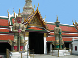 Temples in Bangkok, Thailand
