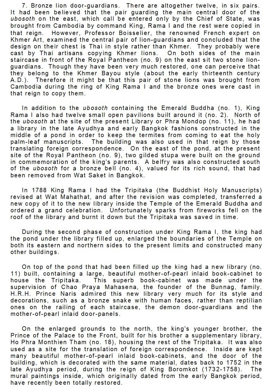 History of the Emerald Buddha page 5