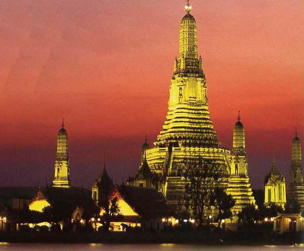 Wat Arun Ratchawararam Temple of Dawn, Bangkok