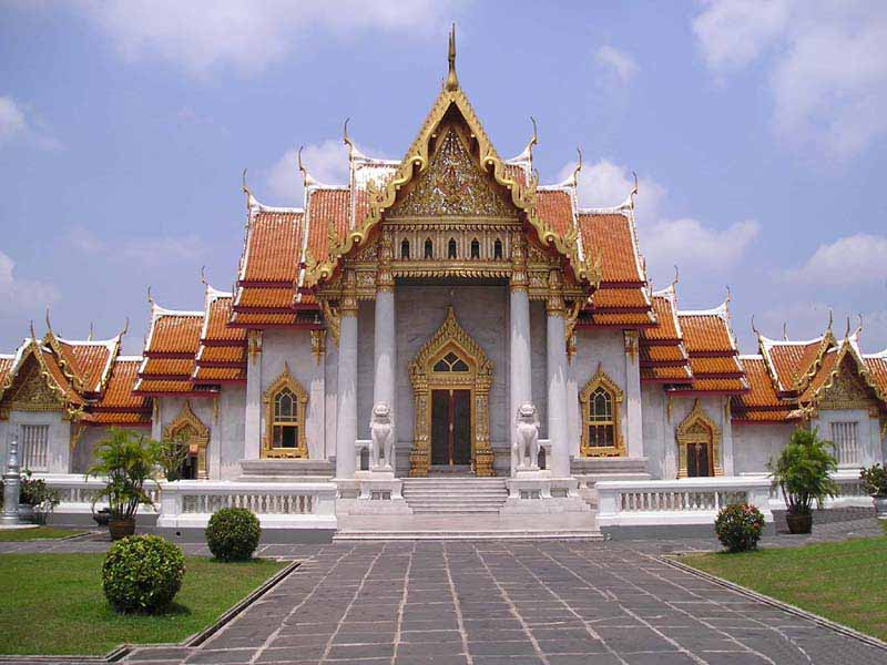 Wat Benchamabophit  The MarbleTemple