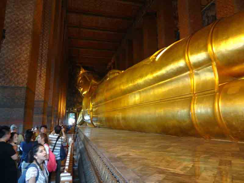 Wat Pho or Temple of the Reclining Buddha, Bangkok