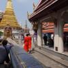 Monks at Wat Phra Keao